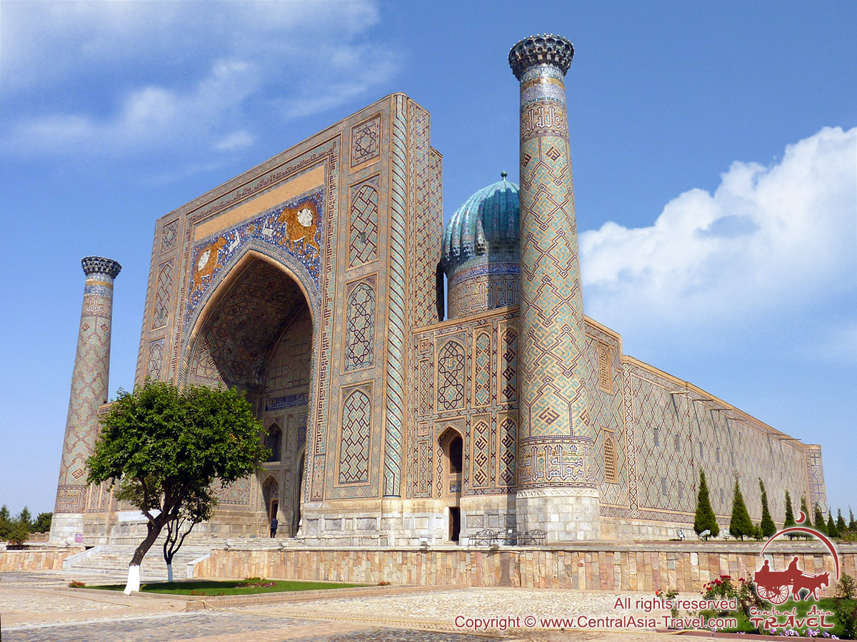 The Registan Square and its Madrasahs, Samarkand, Uzbekistan