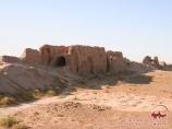 Fortaleza Ayaz Kala. Khorezm, Uzbekistán