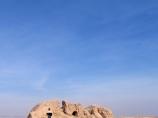 Vestiges de Toprak-Qala. Khorezm, Ouzbékistan