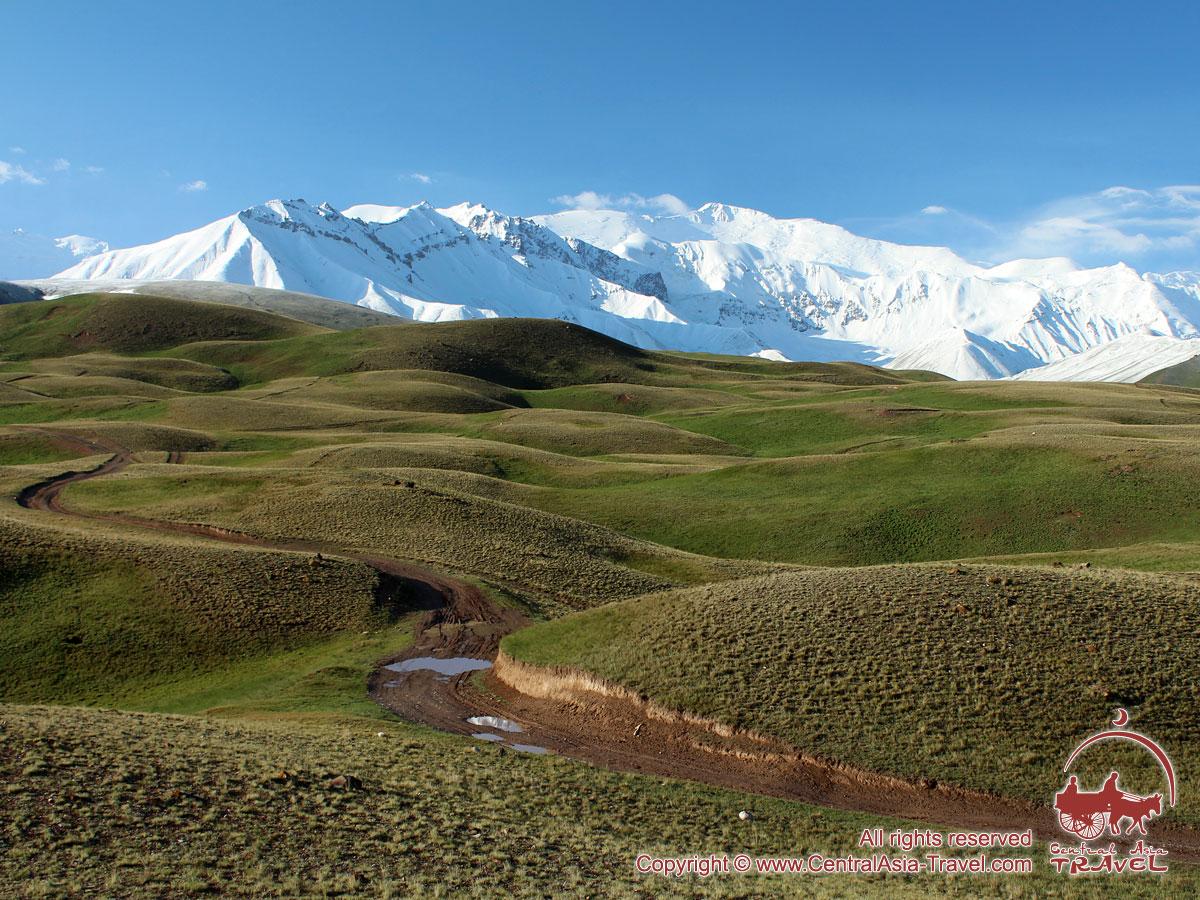 Чон-Алайская долина. Памир, Кыргызстан