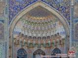 Madrasa de Abdulaziz Khan. Bujara, Uzbekistán