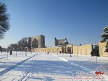 Bibi-Khanym Mosque (14th-15th cent.). Samarkand, Uzbekistan