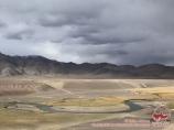 Murghab River. Tajikistan, Eastern Pamirs