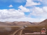 Off-road driving in Murghab. Eastern Pamir, Tadjikistan