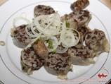 Khasip (sorte de saucisson farci au riz et tripe). Saucisson de foie ouzbek à la maison