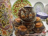 Uzbek ceramics. Pottery art of Uzbekistan