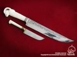 Uzbek knifes. Souvenirs in Uzbekistan
