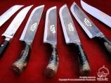 Узбекский ножи. Чуст, Узбекистан. Сувениры Узбекистана