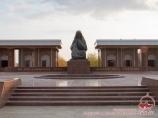 Monument of the mourning mother. Nukus, Uzbekistan