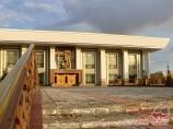 Karakalpak state academic music theatre named after Berdakh. Nukus, Uzbekistan