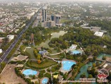 Panorama of Tashkent. Uzbekistan