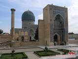 Gur-e Amir (the tomb of Amir Timur XIV-XV c.). Samarkand, Uzbekistan