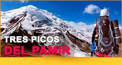 Tres picos del Pamir