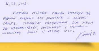 Les avis des alpinistes sur le programme du pic Lénine 2018