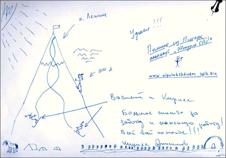 Les avis des alpinistes sur le programme du pic Lénine