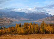 Charvak Reservoir, Usbekistan