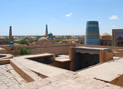 Panorama de Jiva, Uzbekistán