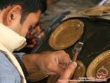 Чеканка по меди. Декоративно-прикладное искусство и народные ремесла Узбекистана