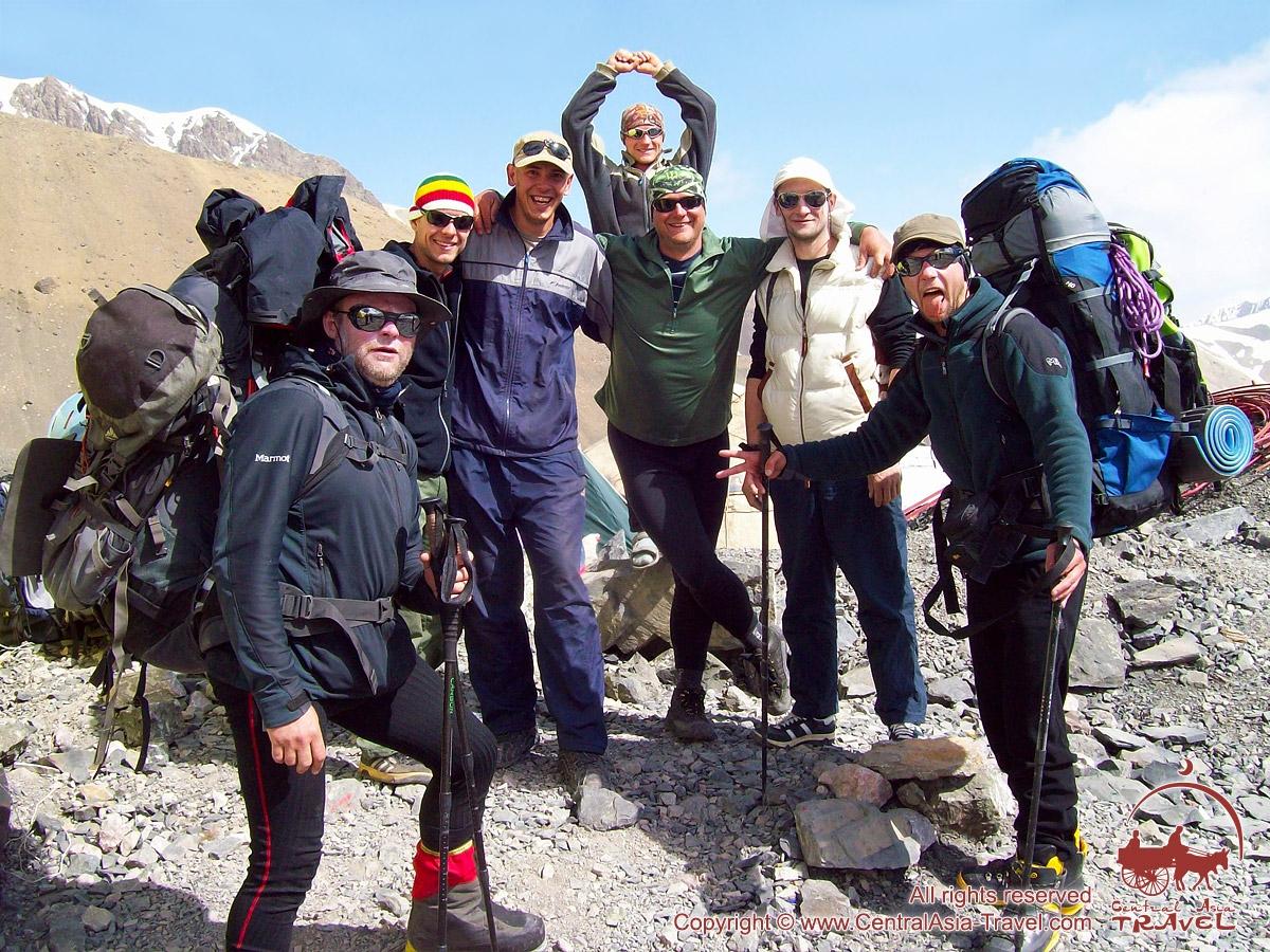 Экспедиция на пик Ленина (7134 м)