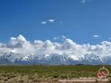 Kyzyl-Suu river valley. Pamir-Alai, Kyrgyzstan