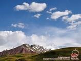 Долина реки Кызыл-Суу. Район Памиро-Алая, Кыргызстан