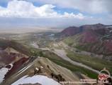 Pic Petrovsky (4830m). Pic Lénine, Pamir, Kirghizstan