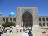 Медресе Тилля-Кори (XVII в.). Площадь Регистан, Самарканд, Узбекистан