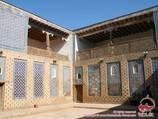 Внутренниый двор дворца Таш-Хаули (XIX в.). Хива, Узбекистан