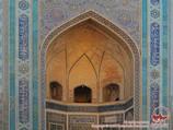 Внешний портал мечети Калян (XV в.). Бухара, Узбекистан