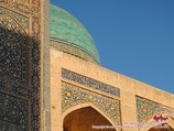 Médersa en activité Miri-Arab (XVIe siècle). Boukhara, Ouzbékistan