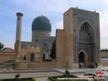 Mausolée Gour-Emir. Samarcande, Ouzbékistan