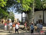 Внутренний двор мечети Кок-Гумбаз (XIV-XV вв.). Шахризабз, Узбекистан