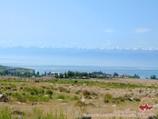 La ville Tcholpon-Ata au Kirghizistan