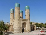 Медресе Чор-Минор (XIX век). Бухара, Узбекистан