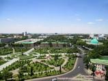 Сквер Амира Темура. Ташкент, Узбекистан