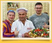 Самаркандский плов. Блюда узбекской кухни