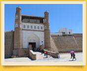 Zitadelle Ark. Buchara, Usbekistan