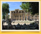 Complejo de Bolo-Hauz. Bujará, Uzbekistán