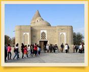 Tschaschma-Ayub-Mausoleum. Buchara, Usbekistan