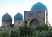 El conjunto conmemorativo de Dorut-Tillyavat