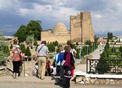 El conjunto conmemorativo de Dorus-Saodat
