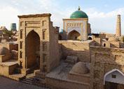 Ensemble architectural Pakhlavan Makhmoud