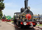 The museum of steam locomotives