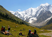 Exploring of Tian Shan