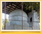 Khodja Maggiz Mausoleum. Architectural sights in Margilan