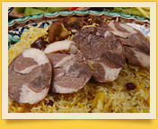 Kazi. Le saucisson fait maison de la viande chevaline