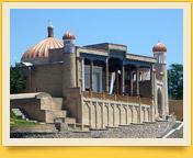 Mezquita Hazrat Hizr (Khazret-Khyzr). Samarcanda, Uzbekistán