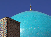 La mezquita Kok-Gumbaz