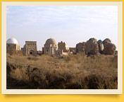 Die Nekropole von Mizdakhan