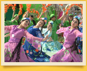 Uzbek traditional dances